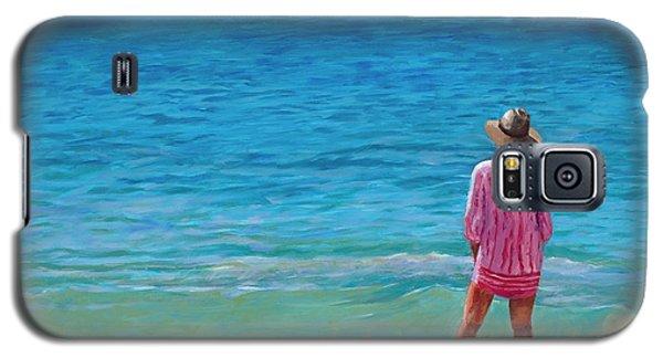 Blue Hawaii Galaxy S5 Case