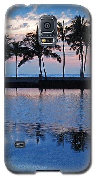 Blue Hawaiian Galaxy S5 Case