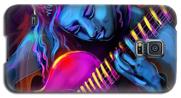 Blue Heart Galaxy S5 Case