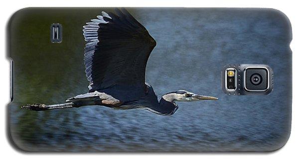 Blue Heron Skies  Galaxy S5 Case