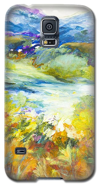 Blue Hills Galaxy S5 Case by Glory Wood