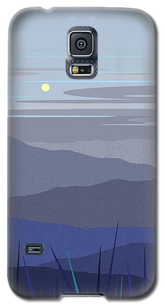 Blue Hills Vertical Galaxy S5 Case by Val Arie