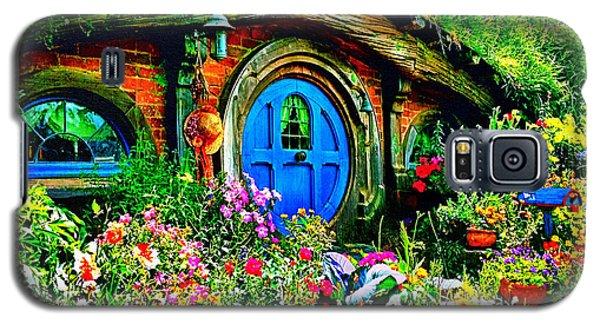 Blue Hobbit Door Galaxy S5 Case