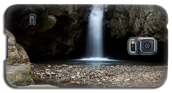 Galaxy S5 Case featuring the photograph Blue Hole In Spring #2 by Jeff Severson