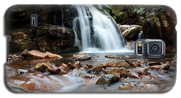 Galaxy S5 Case featuring the photograph Blue Hole In Spring #3 by Jeff Severson