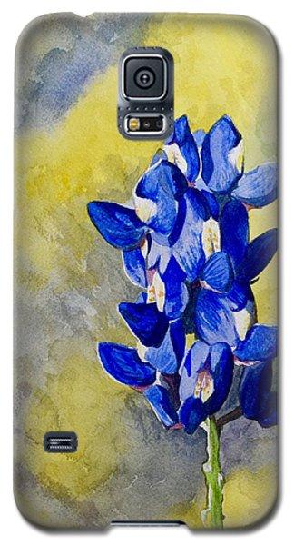 Blue Galaxy S5 Case by Holly York