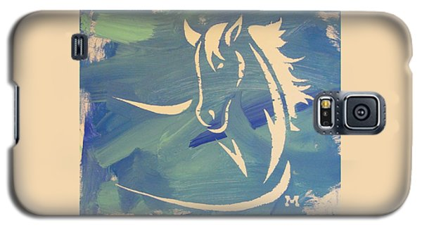 Blue Horse Sky Galaxy S5 Case
