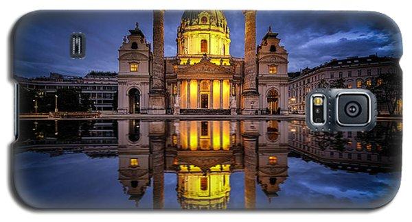 Blue Hour At Karlskirche Galaxy S5 Case