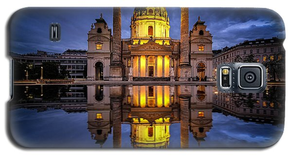 Blue Hour At Karlskirche Galaxy S5 Case