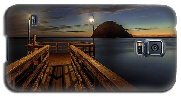Blue Hour At Morro Bay Galaxy S5 Case