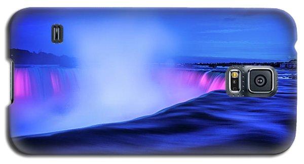 Blue Hour At Niagara Falls Galaxy S5 Case