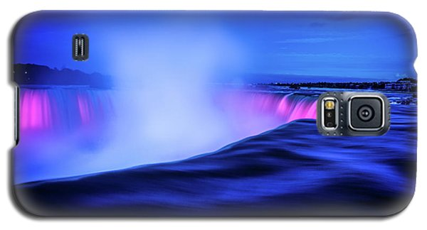 Blue Hour At Niagara Falls Galaxy S5 Case