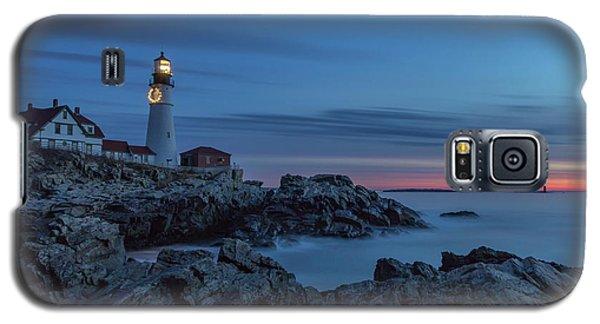 Blue Hour At Portland Head Light Galaxy S5 Case