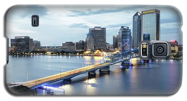 Blue Hour In Jacksonville Galaxy S5 Case