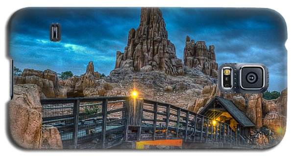 Blue Hour Over Big Thunder Mountain Galaxy S5 Case