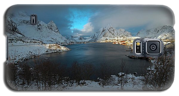 Blue Hour Over Reine Galaxy S5 Case