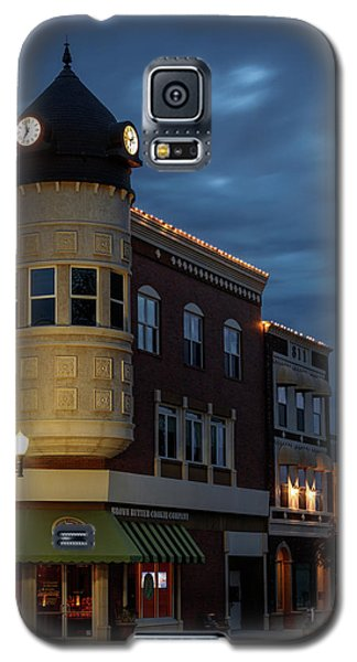 Blue Hour Over The Clock Tower Galaxy S5 Case