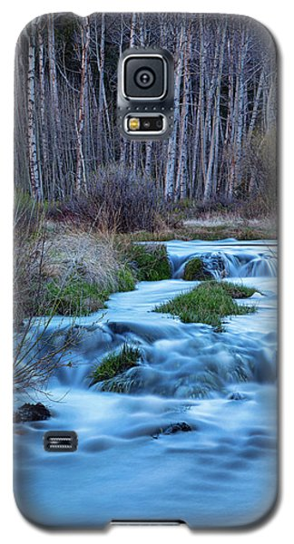 Blue Hour Streaming Galaxy S5 Case by James BO Insogna