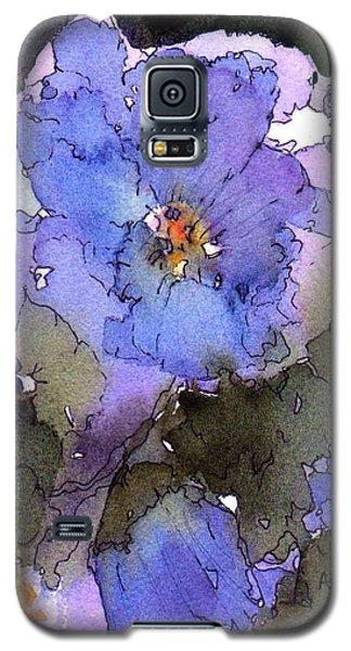 Blue Hyacinth Galaxy S5 Case
