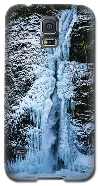 Blue Ice And Water Galaxy S5 Case