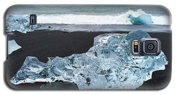 Cool Galaxy S5 Case - Blue Ice In Iceland Jokulsarlon by Matthias Hauser