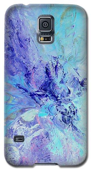 Blue Indigo Galaxy S5 Case by Irene Hurdle