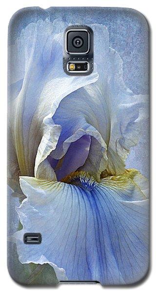 Blue Iris Fog Galaxy S5 Case