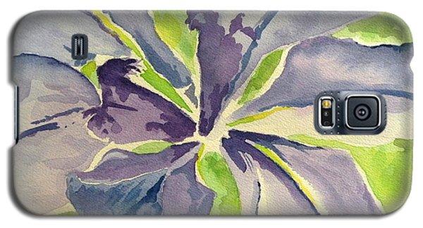 Blue Iris Galaxy S5 Case by Holly York