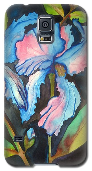 Blue Iris Galaxy S5 Case by Lil Taylor