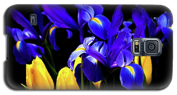 Blue Iris Waltz By Karen Wiles Galaxy S5 Case by Karen Wiles