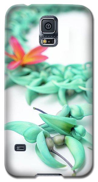 Blue Jade Lei Galaxy S5 Case