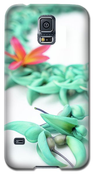 Blue Jade Lei Galaxy S5 Case