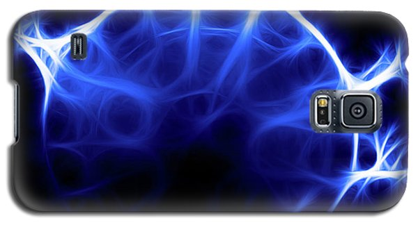 Blue Jelly Fish Galaxy S5 Case