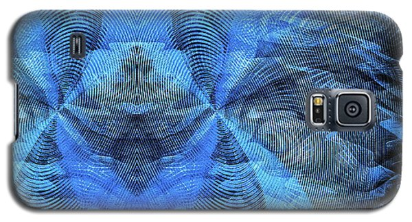 Blue Kitty Galaxy S5 Case