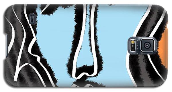 Blue Lady Galaxy S5 Case