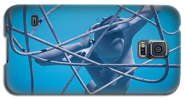 Blue Lady Galaxy S5 Case