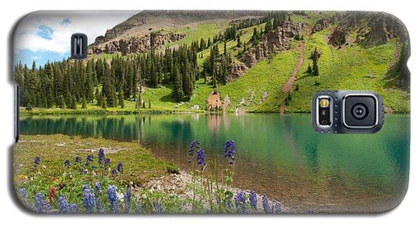 Blue Lakes Summer Splendor Galaxy S5 Case