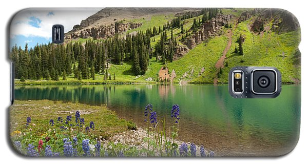 Blue Lakes Summer Splendor Galaxy S5 Case