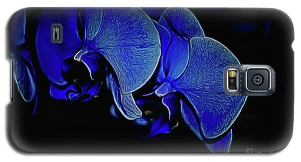 Blue Light Galaxy S5 Case by Diana Mary Sharpton