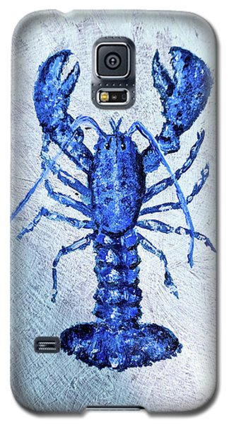 Blue Lobster 1 Galaxy S5 Case