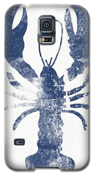 Blue Lobster- Art By Linda Woods Galaxy S5 Case