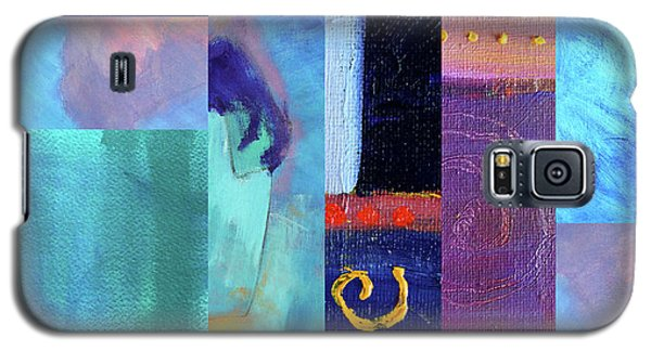 Galaxy S5 Case featuring the digital art Blue Love by Nancy Merkle