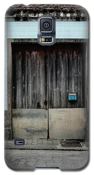 Galaxy S5 Case featuring the photograph Blue Mailbox by Marco Oliveira