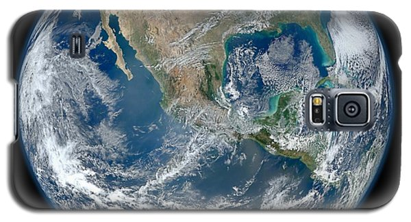 Blue Marble 2012 Planet Earth Galaxy S5 Case by Nikki Marie Smith