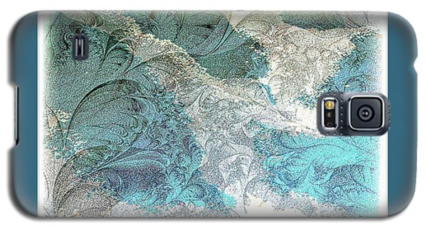 Galaxy S5 Case featuring the photograph Blue Maze by Athala Carole Bruckner