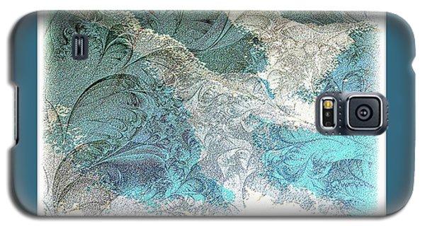 Blue Maze Galaxy S5 Case by Athala Carole Bruckner