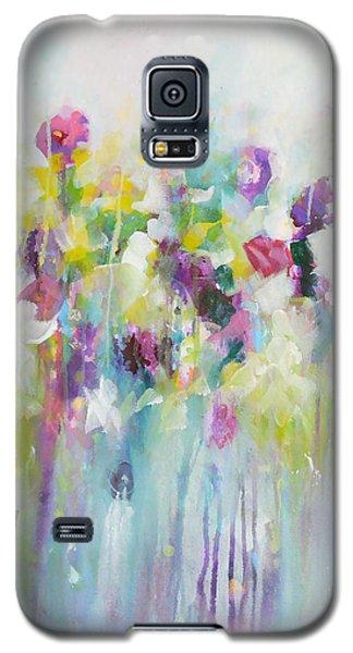 Blue Meadow II Galaxy S5 Case