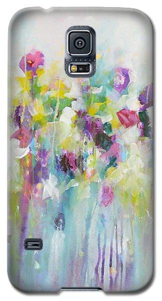 Blue Meadow Galaxy S5 Case