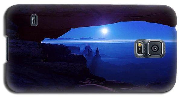 Blue Mesa Arch Galaxy S5 Case