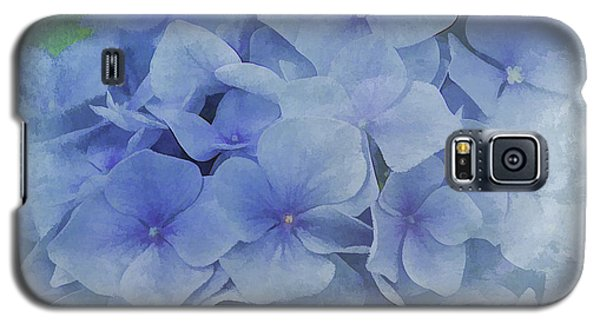Galaxy S5 Case featuring the photograph Blue Moments by Elaine Manley